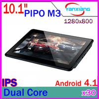 Wholesale 30PCS PiPO M3 quot RK3066 Dual core GHz GB GB Dual Camera IPS Screen HDMI Bluetooth Tablet PC