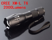Wholesale 2000 Lumen Flashlight Led Cree XML XM L T6 Torch Camping Equipment The Lamp Lamps Flash Light Waterproof