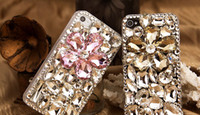 Silicone For Apple iPhone  New wholesale luxury gem mobile phone cases shell protective sleeve Rhinestone phone 5 accessories cheap phone case KM_KOO1
