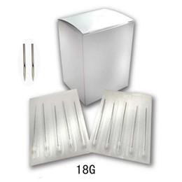 Wholesale 200pcs G mm body piercing needles Sterilized Disposable Body Piercing Needles