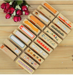 Wholesale 20pcs lot Newest vintage lace doll designs series DIY long wood stamp  Diary stamp 20 designs