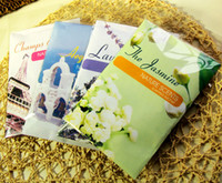 Wholesale Fashion Scented Sachets Fragrance Oil Sachets Aroma Essential Oil Aroma Therapy Diffuser Home Fragrance Avoid Infection