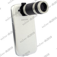 Wholesale XYA12 X Zoom Mobile Phone Telescope Lens Crystal Case for Samsung Galaxy SIII i9300 S3