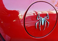 Personalized Sticker Whole Body  3D car stickers Metal Spider pattern design bumper stickers Personalized Sticker auto Decoration