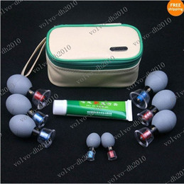 Wholesale XYA16 New Chinese Health Haci Magnetic Acupressure Suction Cup Set Cups