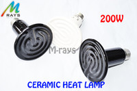 Wholesale Reptile appliances w ceramic heat lamp E27 v heating breeding emitter