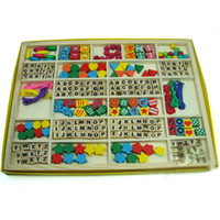 Wholesale Ziyu Holiday Sale Fruit Animals Letters Educational Sawing Toys Math Game Colourful Wooden Toys
