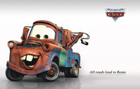 Wholesale Removable Kids Wall Stickers Cartoon Car Wall Art Stickers Nursery Wall Decor