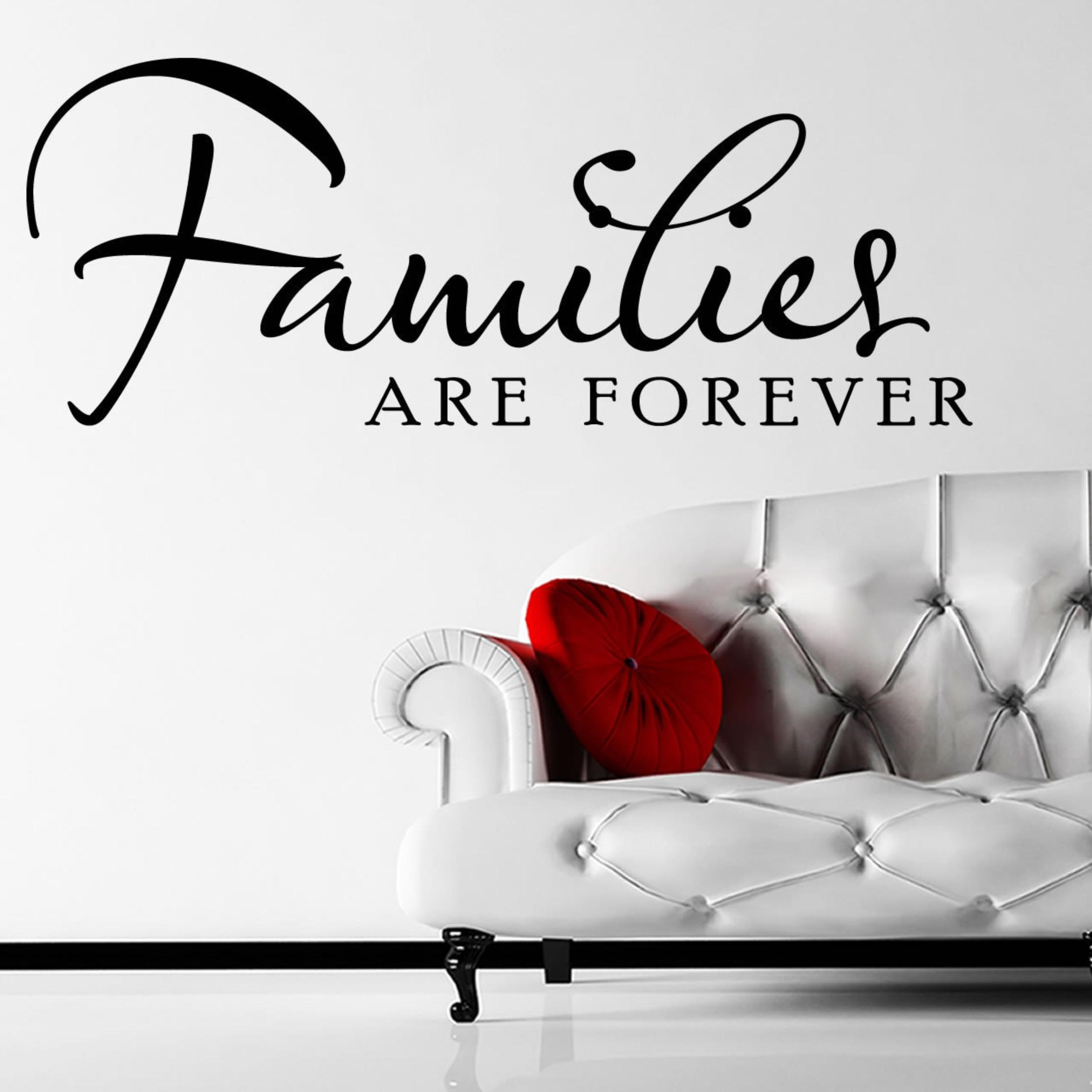 Yw106560 80cm Mix Order Wall Words Lettering Saying Wall Decor Sticker Vinyl Wall Art Stickers