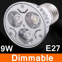 Wholesale Cool White K Warm white k e27 Led Light Bulbs Lamp V V Dimmable W LM Beam Angle Led Lights CE ROHS