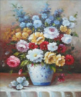 Wholesale Contemporary and contracted european style hand painted oil paintings decorate the sitting room porch Z41