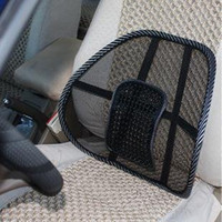 best car massage cushion - Best selling Car Seat Massage Chair Back Lumbar Support Mesh Ventilate Cushion Pad Free sh