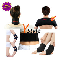Wholesale Toumaline Foot Massager Self heating Ankle Pad Tourmaline Belt for Elbows Magnetic Tourmaline Mass