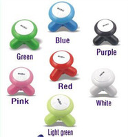 Wholesale 5 New USB Electric Handled Vibrating Mini Full Body Massager random color M009