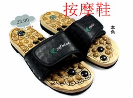 Wholesale Men and women slippers massage shoes ex b2 health slippers at home slippers wool massage shoes magne