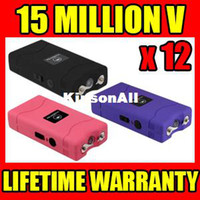 Wholesale 12 Million Volt Stuns Gun with LED Light Alternative to Tazer Color Mix KSA