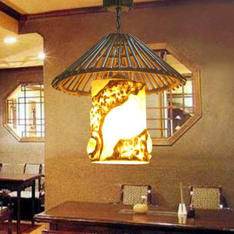 Best Chinese Lounge Bamboo Teahouse Inn Restaurant Chandelier Bam