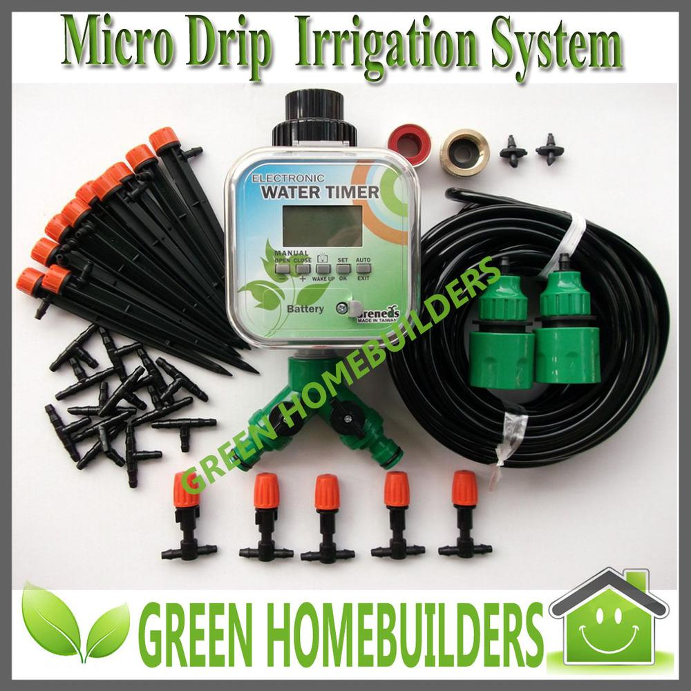 2017 solar power plant micro drip irrigation system with rainstop function from sunhome. Black Bedroom Furniture Sets. Home Design Ideas