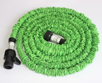 Wholesale 75ft pocket hose Garden water hose expandable flexible hose USA Standard Garden hose water pipe with water gun
