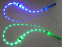 Wholesale LED Jump Rope LED Flashing Bamboo Skipping Rope Adjustable Speed Jump Rope