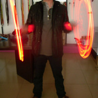 Wholesale LED Flashing Jump Rope LED Flashing Bamboo Skipping Rope Sports Wireless Skip Rope