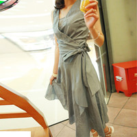 Wholesale New summer authentic pure cotton in han edition cultivate one s morality dress