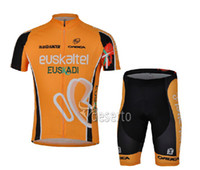 Wholesale 2013 New ESpain team Cycling Clothing suit Cycling Jersey short sleeves Bike Bicycle Clothing