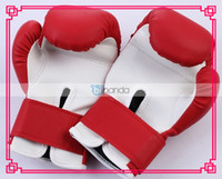 Wholesale 2013 brand new PU leather Flexibility Sports Cartoon Charm Children s Boxing Gloves blue and red colors
