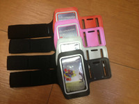 neoprene For Samsung For Christmas 50pcs lot Sport case Armband case for Samsung Galaxy S3 S4 I9300 I9500