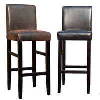 Wholesale brief leather bar chair bar stool