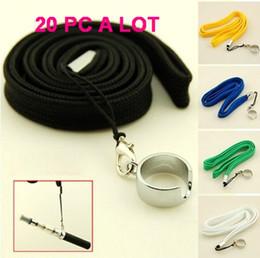 Wholesale E Cigarette EGO STRING EGO ego ring Colorful ego necklace ego lanyard rope for ego ecig PC GREAT PRICE
