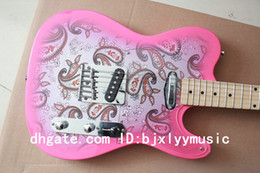 Wholesale Newest pink Custom shop TE Electric Guitar beautiful classical guitar HOT guitars
