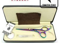 Wholesale inch Stainless steel JP440C Professional hair scissors HRC cutting scissors