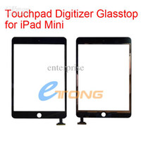 Wholesale Touch Panel Digitizer Glasstop Replacement for iPad Mini Touch Screen Touchpad Digitizer Glass AA19