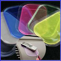 Wholesale 300pcs Magic Sticky Pad Anti Slip Non Slip Silicone Mat for Phone PDA mp3 mp4 Car