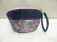 Wholesale Handmade Womens Handbags Purses High Quality Silk Cotton Stitching Tote Bags mix color