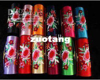 Wholesale Empty Lipstick Tubes Packaging Lip Balm Tube Containers Embroidered Lip gloss Tubes Free
