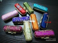 Silk lip balm tube - Personalized Lipstick Case Lip Balm Tubes Metal Clip Lip gloss Packaging Free