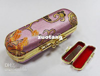 lipstick case - Eco Lipstick Cases with Mirror Lip Balm Tubes Packaging Metal Clip Lip gloss Case Free