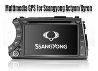 Wholesale In Dash Din Car DVD Player for Ssangyong Kyron Actyon Tradie Korando with GPS Nav Radio Bluetooth TV SWC AUX USB Stereo Audio Video