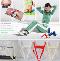 Wholesale Body Fat Tester Fitness Equipment Personal Body Fat Caliper Tester Accurate Measure Abdominal Exerciser