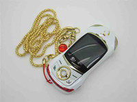 Wholesale 2013 luxury phone Mini Car Phone F6 Dual SIM Cards MP Camera Bluetooth MP3 MP4 Metal Back Cover