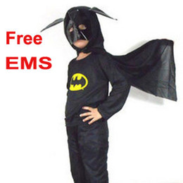 Wholesale Cosplay costume Batman costume for kid Superman costume Spiderman Hero clothes costume EMS