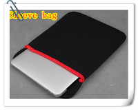 Wholesale 50pcs DHL inch Laptop Soft sleeve case cover bag for ipad tablet PC notebook