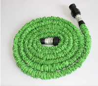 Wholesale New Hot Sale New Gardens Stretching Pipe Pocket hose expandable flexible hose FT Garden hose Green