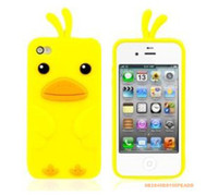 For Apple iPhone chicken run - Cute Cartoon Chick Case Chicken Run Pattern Silicone Protective Gel Case Cover for iPhone S