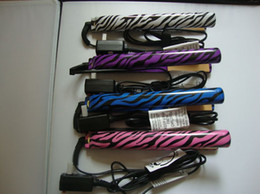 Wholesale new design Zebra hair straightener