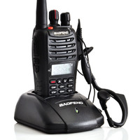 Wholesale Hot selling BF UVB5 UHF VHF Walkie Talkie Dual Band Dual Frequency Dual Display W CH Portable Radio A1011A