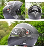 Wholesale MOTO Undrape Face Helmets JIEKAI open face helmet Full Face helmet Motorcycle Helmet motorbike motocross helmet colors size M L XL XXL