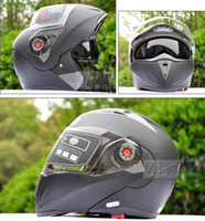 Wholesale Transparent lens Dark black Helmets JIEKAI undrape face helmet Full Face helmet Motorcycle Helmet motocross helmet Moto Racing Helmet